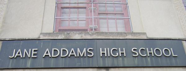 Jane Addams High School in Morrisania