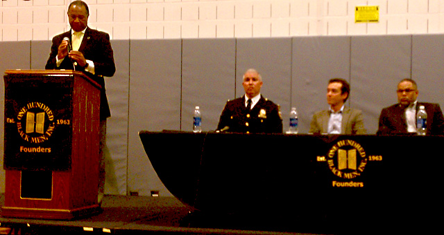 Stop and frisk panel