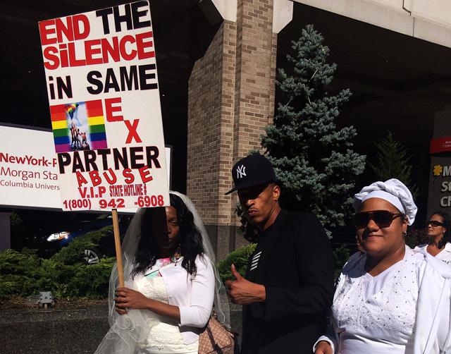 A same sex survivor asks others to speak up about violence in gay partnerships.