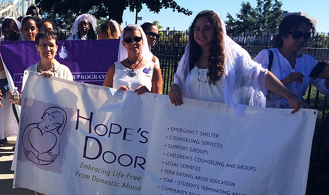 Hope's Door is another organization that fights to end domestic violence and to empower victims.